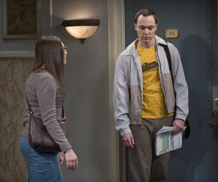 Ein Magazin hat einen Artikel über die Arbeit von Leonard und Sheldon veröffentlicht, ohne Leonards Namen zu erwähnen. Können Sheldon (Jim Parsons,... - Bildquelle: Warner Bros. Television