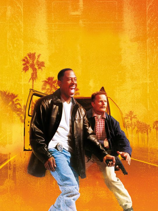 "NATIONAL SECURITY - Artwork: Aus Jägern werde Gejagte: Earl (Martin Lawrence, l.) und Hank (Steve Zahn, r.) von der ""National Security"" werden als... - Bildquelle: CPT Holdings, Inc.  All Rights Reserved."