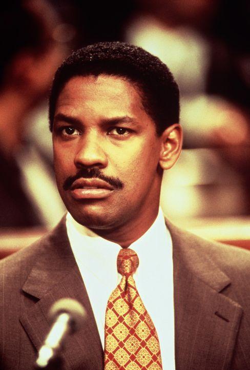 Nach und nach hat der Anwalt Joe Miller (Denzel Washington) seine Vorurteile über Schwule und Aids abgelegt und kämpft für das Recht seines Mandante... - Bildquelle: Columbia Pictures