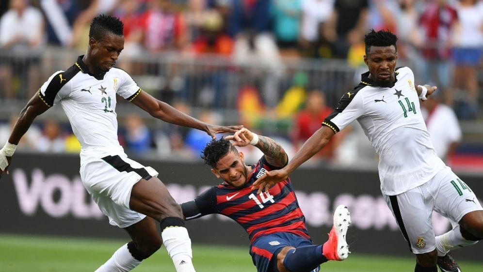 Die Nationalmannschaft Ghanas scheiterte in der WM-Quali - Bildquelle: AFPSIDTIMOTHY A. CLARY