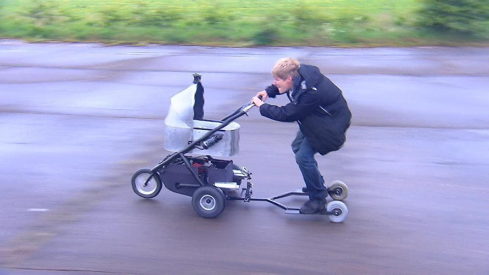 Kinderwagen Tuning