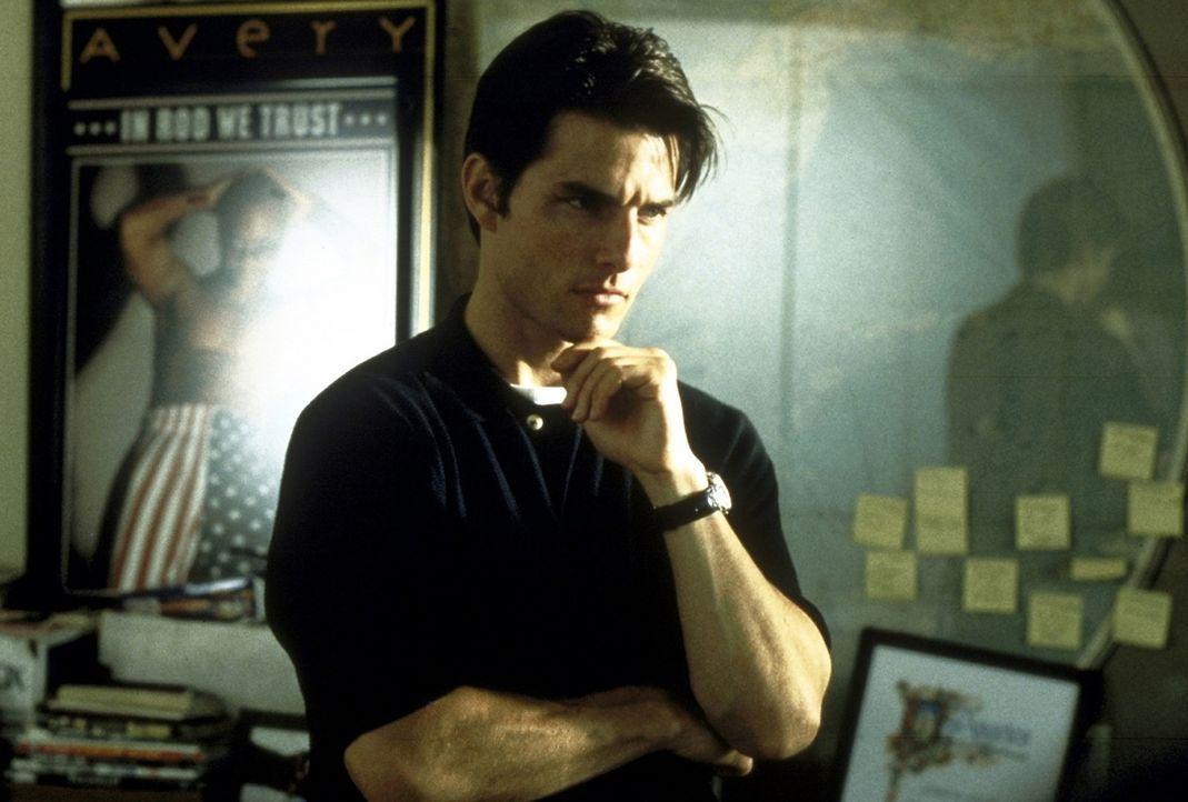 Jerry Maguire (Tom Cruise) ist einer der erfolgreichsten Agenten für Football-Spieler. Doch eines Tages beschließt er, seine Wertevorstellungen de... - Bildquelle: TriStar Pictures
