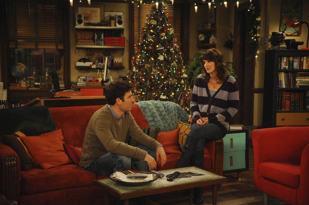 Während Robin (Cobie Smulders, r.) einen neuen Job bekommt, beginnt Ted (Josh Radnor, l.) als Trauzeuge mit den Vorbereitungen für die Hochzeit se... - Bildquelle: 20th Century Fox International Television