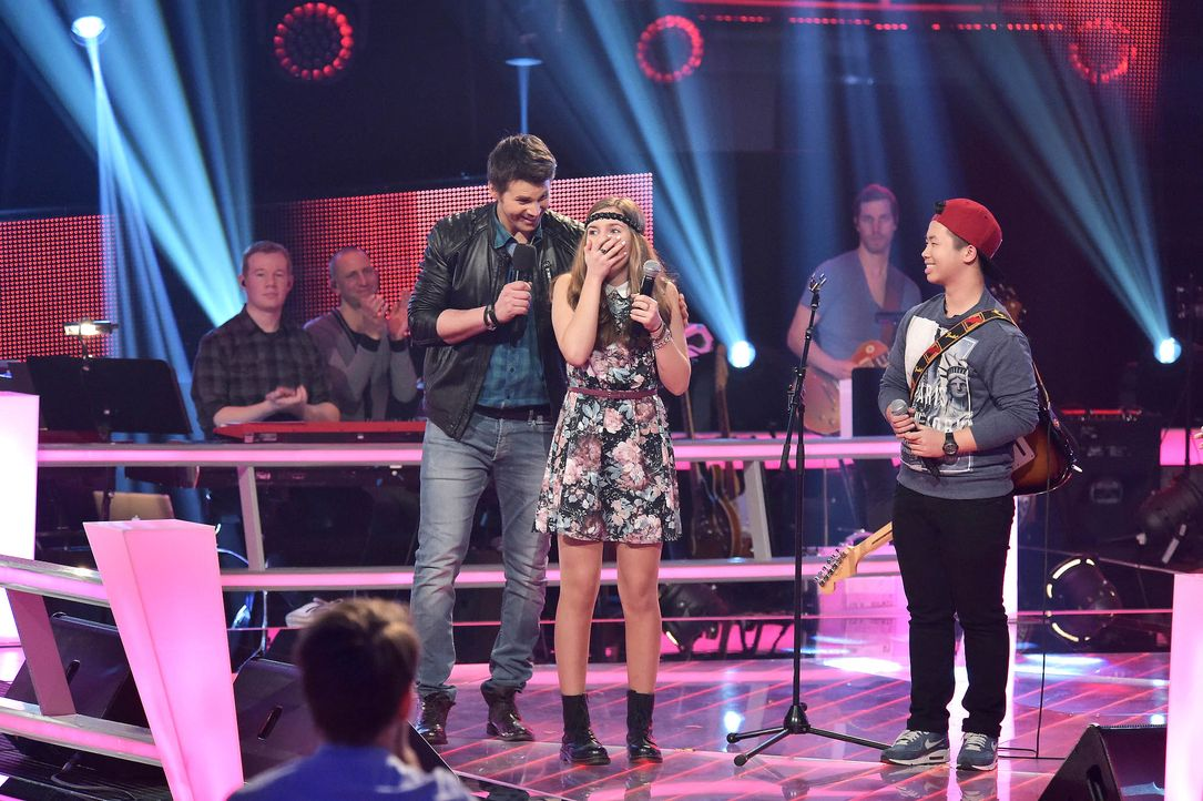 The-Voice-Kids-Stf03-Epi05-55-Sophie-SAT1-Andre-Kowalski - Bildquelle: SAT1. / Andre Kowalski
