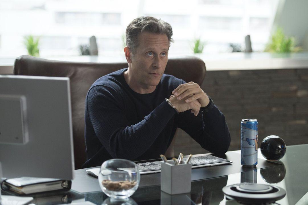 Ihr neuester Fall führt Liv und Clive mal wieder zu Du Clark (Steven Weber). Aber werden sie wirklich herausfinden, was die ermordete Wissenschaftle... - Bildquelle: 2014 Warner Brothers