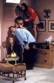 Friends - Zwischen Ross und Rachel kommt es zu einem ernsthaften Gespräch. Ih...