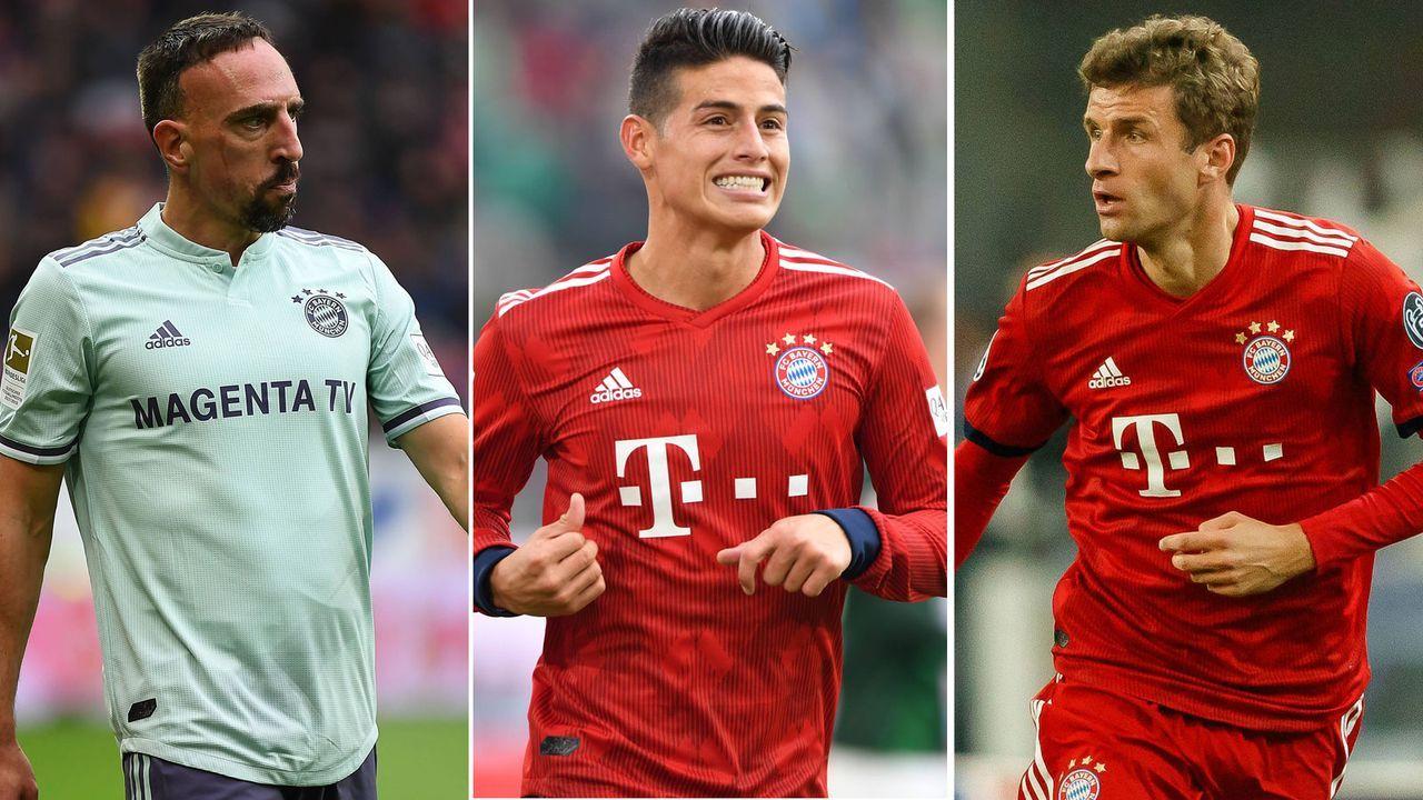Unzufriedene Bayern-Stars - Bildquelle: 2018 imago