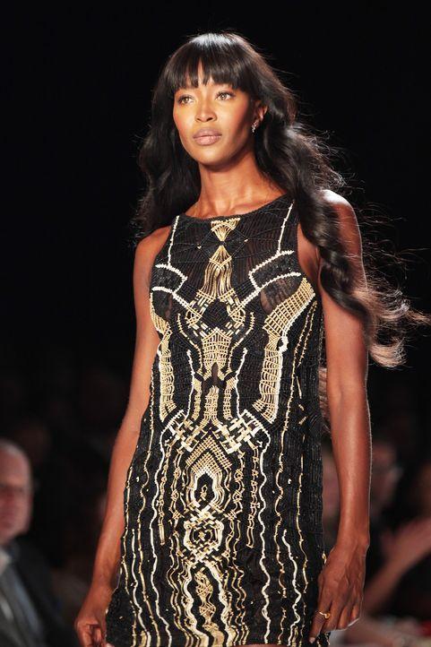 Fashionweek-NY-Naomi-Campbell-13-09-08-AFP - Bildquelle: AFP