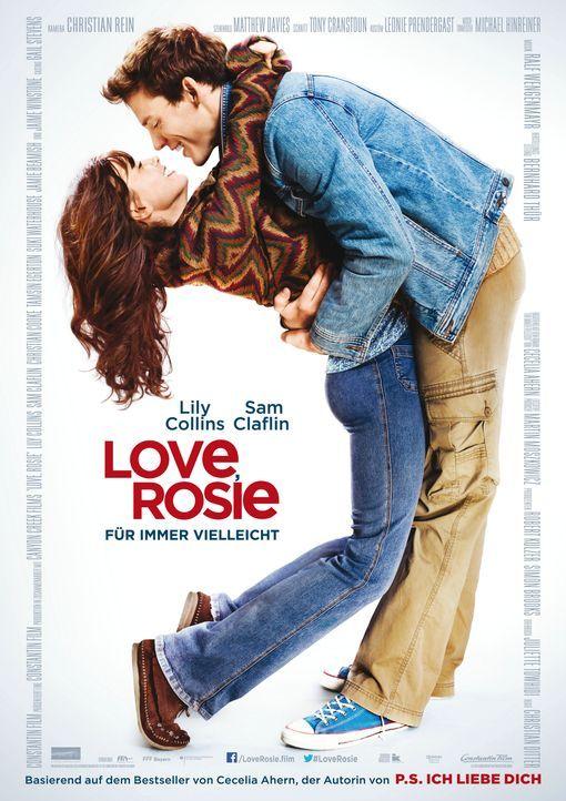 LOVE, ROSIE - FÜR IMMER VIELLEICHT - Plakatmotiv - Bildquelle: Constantin Film Verleih GmbH