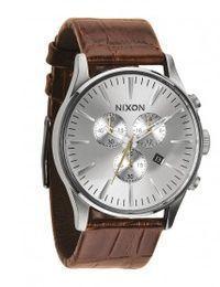 nixon-uhr-the-sentry-chrono-leather-saddle-gator-a405-1888-00