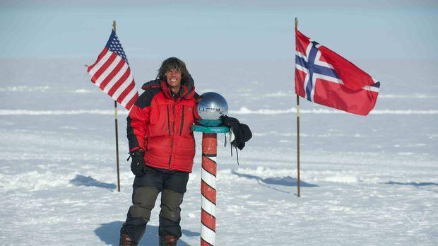 Eis und Schnee, soweit das Auge reicht. Michael Martin durchquert die Eiswüst...