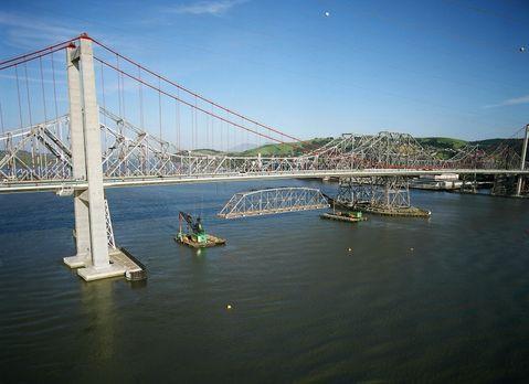 Einst war sie eine der längsten Straßenbrücken der Welt, jetzt hat ihre letzt...