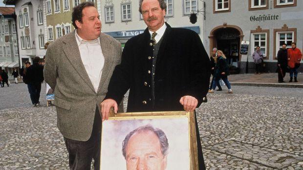Kommissar Benno Berghammer (Ottfried Fischer, l.) kennt seine Pappenheimer. E...