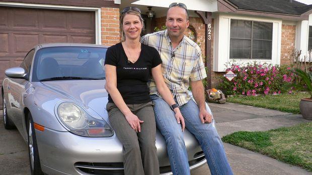 Andrea (39) und Dieter (36) sind vor zwei Jahren nach Texas ausgewandert. Sie...