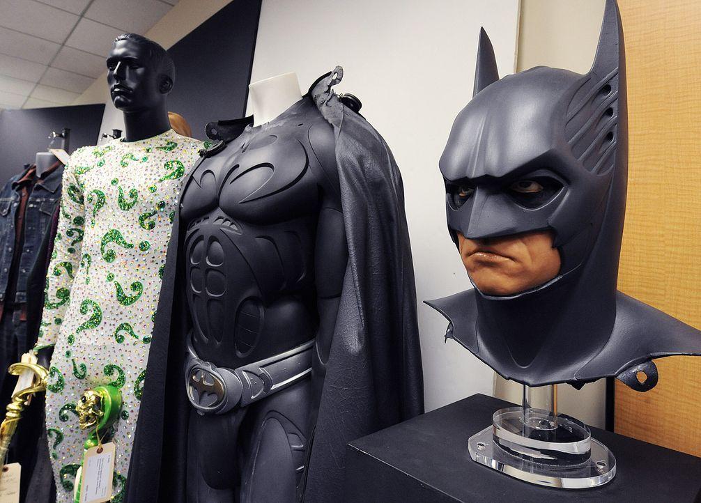 Batman-Forever-Kostuem-Val-Kilmer-Riddler-Kostuem-Jim-Carrey-AFP - Bildquelle: AFP