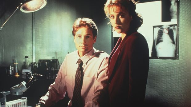 (1. Staffel) - Während die FBI-Agentin und Wissenschaftlerin Scully (Gillian...