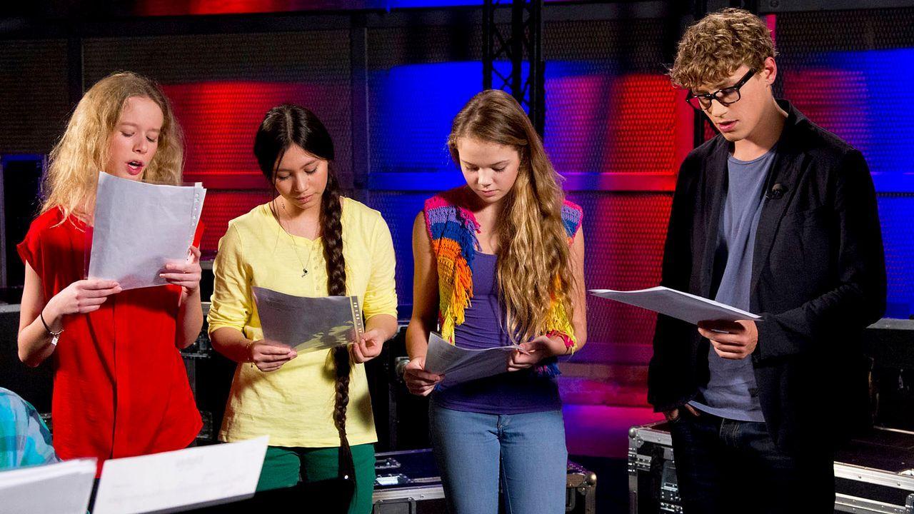 The-Voice-Kids-epi04-Hannah-Kieu-LaraMarie-22-SAT1-Richard-Huebner - Bildquelle: SAT.1/Richard Hübner