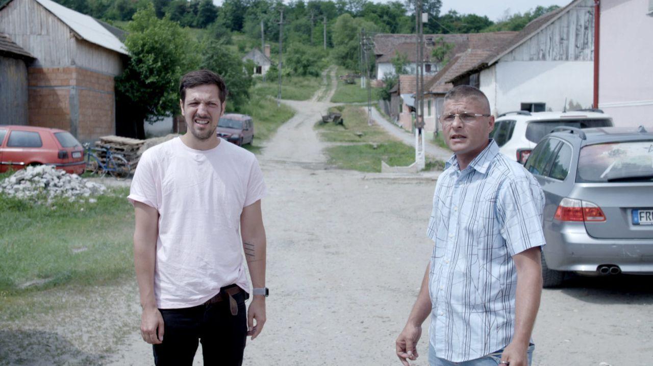 """Auch in Deutschland ist die """"Ware Mensch"""" allgegenwärtig. Rumänische Wanderarbeiter hoffen hier auf faire Löhne - und werden oft betrogen. Wie wird... - Bildquelle: ProSieben"""