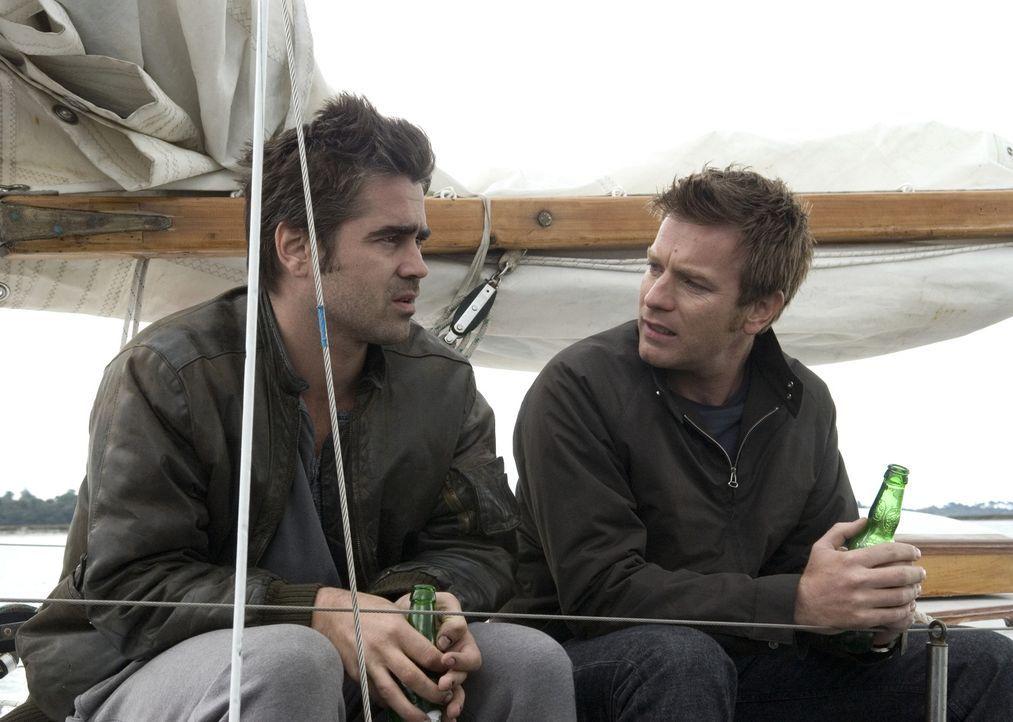 Terry (Colin Farrell, l.) kriegt einfach nicht aus dem Kopf, was er mit seinem Bruder Ian (Ewan McGregor, r.) getan hat. Mit Drogen und Alkohol vers... - Bildquelle: Constantin Film