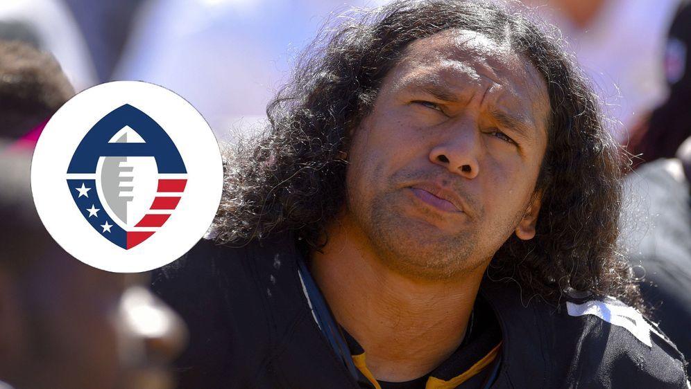 Früher ein Star in der NFL, heute Head of Player Relations in der Alliance o... - Bildquelle: Imago / Twitter@ AAFLeague