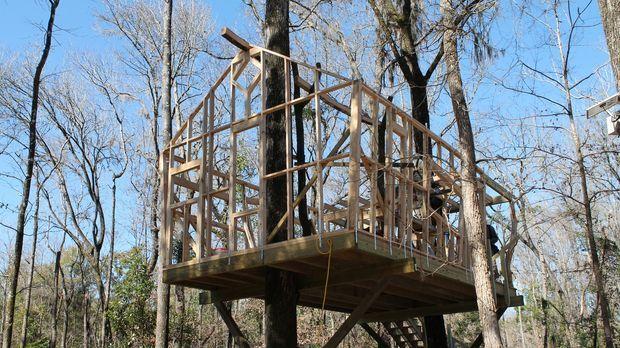 Können die Treehouse Guys den Baumhaus-Traum von Polizist John Shea aus Fort...