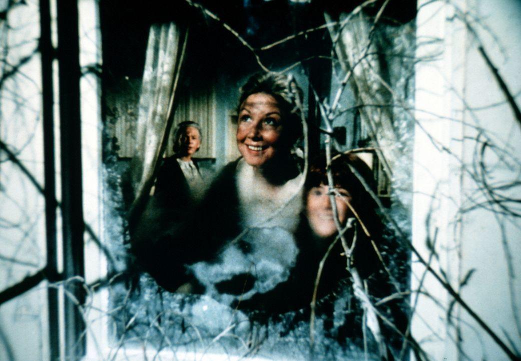 Olivia (Michael Learned, vorne l.) und Elizabeth (Kami Cotler) freuen sich über den Schnee. Endlich sind alle versammelt, um gemeinsam Weihnachten z... - Bildquelle: WARNER BROS. INTERNATIONAL TELEVISION