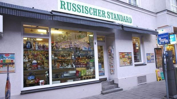 Kleiner Laden Russland