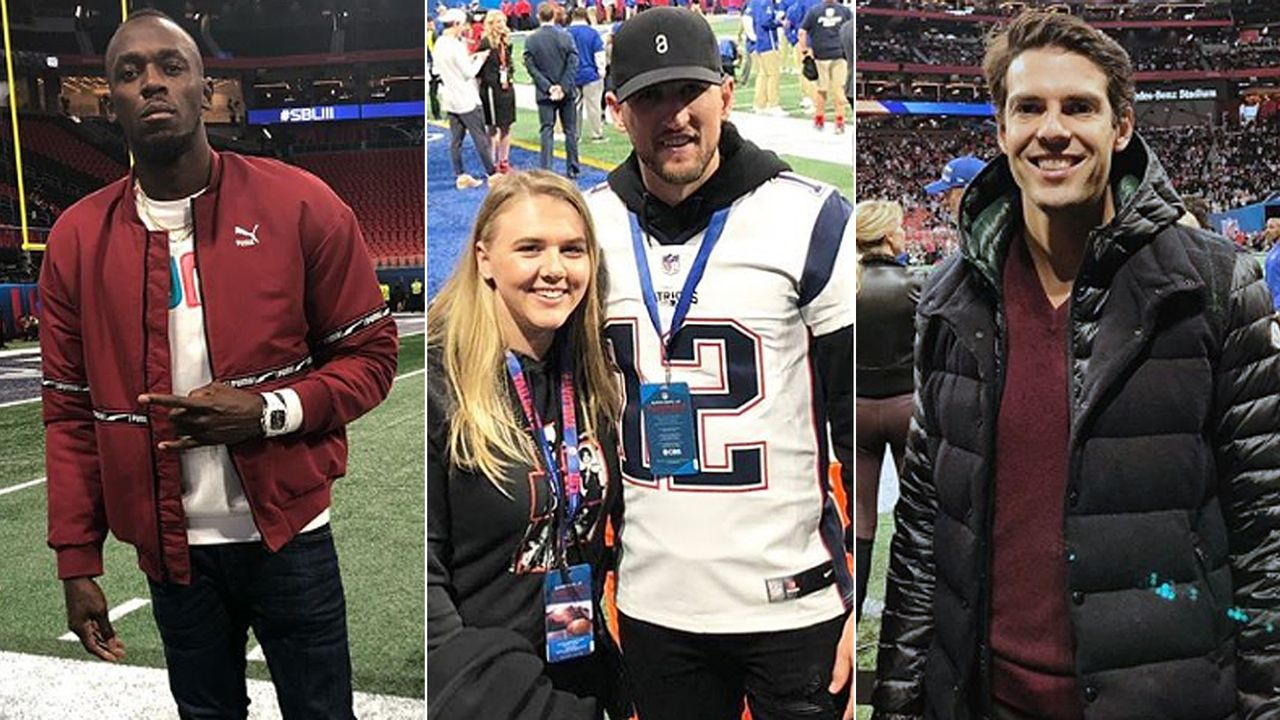 Die Sportstars beim Super Bowl LIII 2019 - Bildquelle: usainbolt@instagram, harrykane@instagram, kaka@instagram