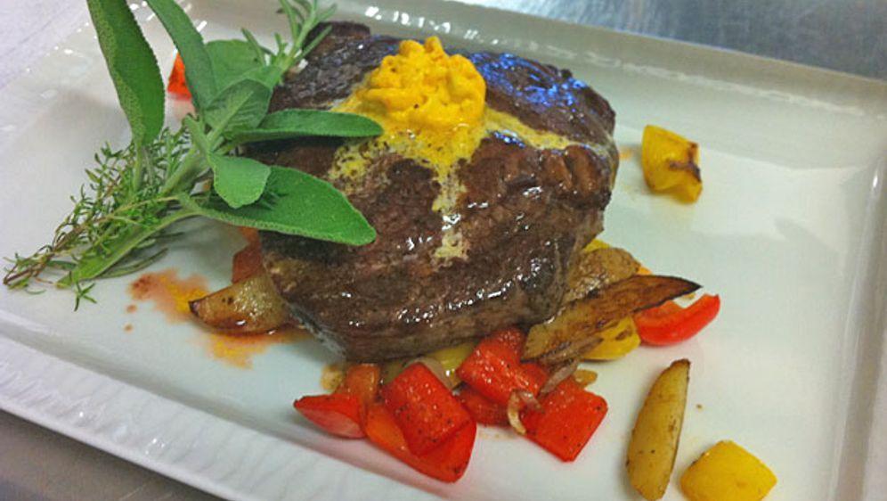 Rib-Eye-Steak mit Butterkartoffeln