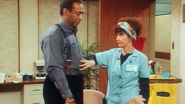 Mrs. Granger prüft, ob Cliff (Bill Cosby, l.) noch ein paar Kekse essen darf....