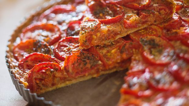 Herzhafte Tomaten-Tarte