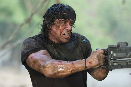 John Rambo - Immer auf der Seite der Guten: Rambo (Sylvester Stallone) ... -...