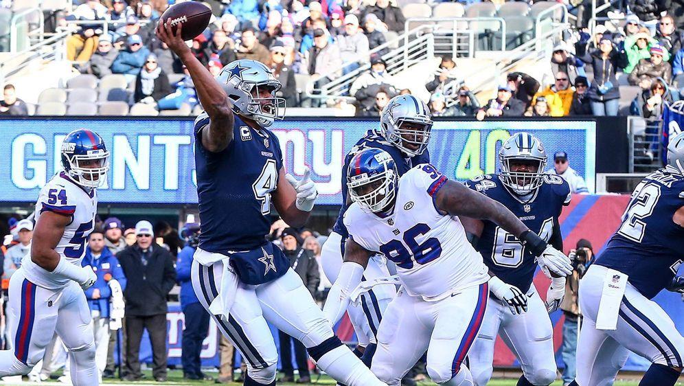 Die Cowboys empfangen am Sonntag die Giants. - Bildquelle: imago/Icon SMI