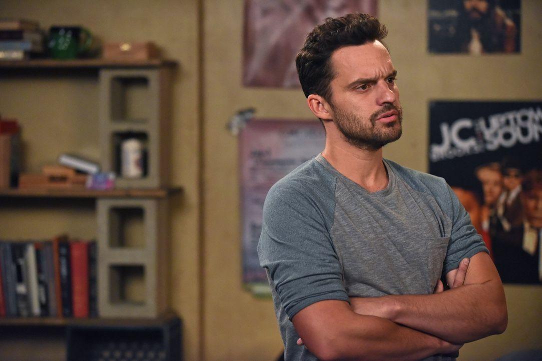 Nick (Jake Johnson) bittet Jess um einen Gefallen, der ihr nicht ganz leicht fällt ... - Bildquelle: 2017 Fox and its related entities.  All rights reserved.