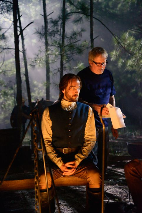 Backstage am Set von Sleepy Hollow - Bild8 - Bildquelle: 20th Century Fox and all of its entities all rights reserved