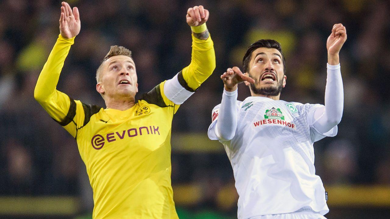 Borussia Dortmund - SV Werder Bremen 1:0 - Bildquelle: Bongarts/Getty Images