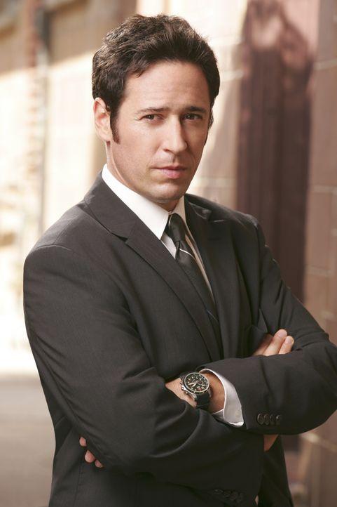 (1. Staffel) -  Im Kampf gegen das Böse: Special Agent Don Eppes (Rob Morrow) ... - Bildquelle: Paramount Network Television