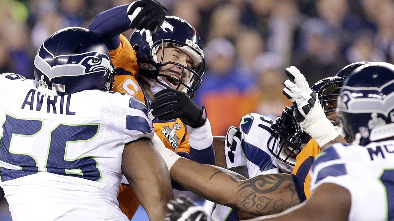 Super Bowl 2014: Seattle Seahawks (43:8 gegen die Denver Broncos) - Bildquelle: imago/UPI Photo