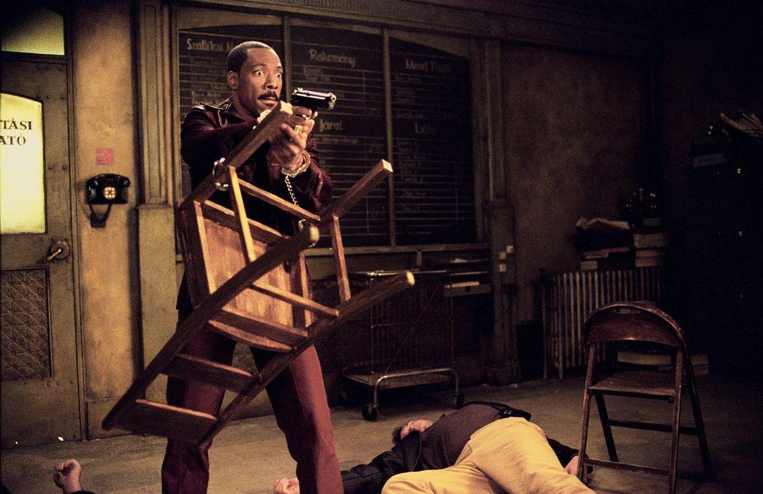 In allen Lebenslagen souverän chaotisch: Kelly Robinson (Eddie Murphy) ... - Bildquelle: 2003 Sony Pictures Television International