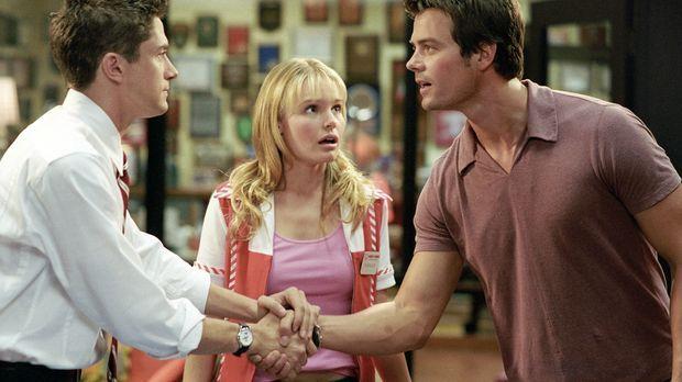 Rosalee (Kate Bosworth, M.) gewinnt ein Date mit Superstar Tad Hamilton (Josh...