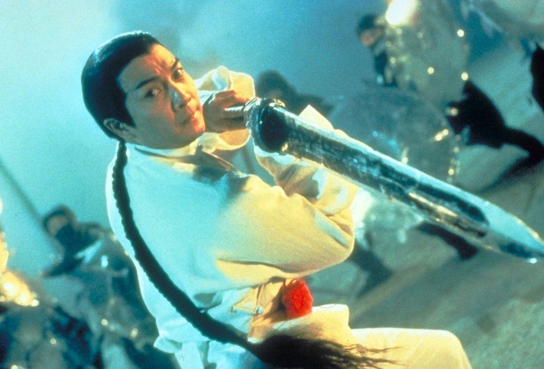 Als Meister des Kung Fu bekämpft Hong (Jet Li) seine Feinde, die Mandschus ...