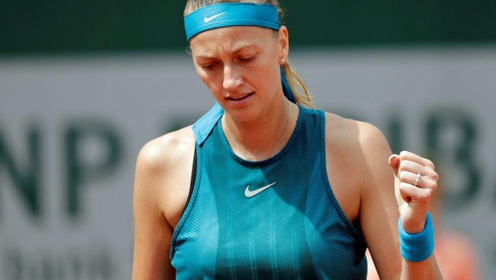 Petra Kvitova trifft im Finale auf Magdalena Rybarikova - Bildquelle: AFPSIDTHOMAS SAMSON