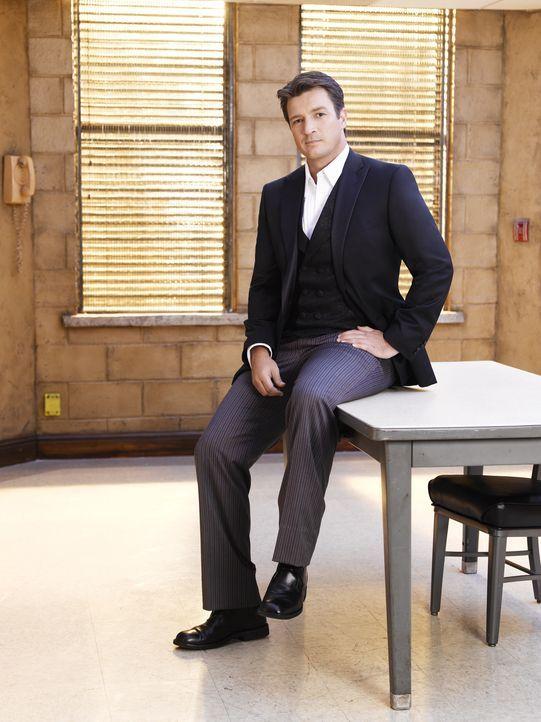 (3. Staffel) - Nur selten lässt Richard Castle (Nathan Fillion) sein Gespür im Stich ... - Bildquelle: ABC Studios