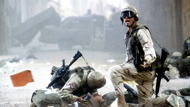 Black Hawk Down - Den US-Truppen droht ein grauenvolles Desaster: Sergeant Ma...
