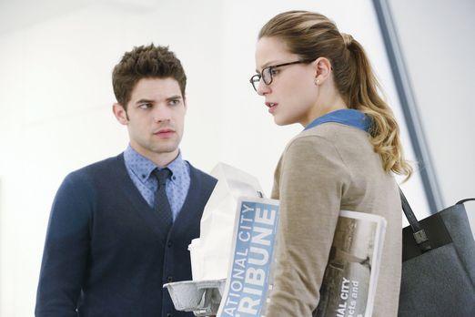 Supergirl - Als Cat das Opfer eines Hackers wird, sind Kara (Melissa Benoist,...