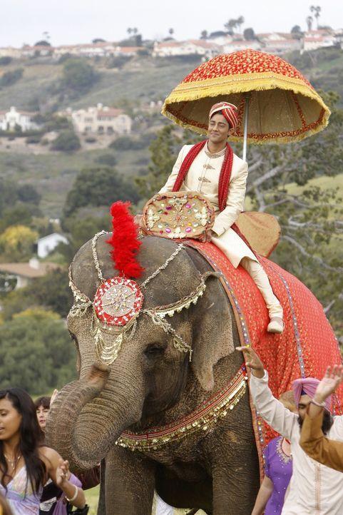 Bräutigam Raj (Manish Dayal) auf dem Weg zur Hochzeit ... - Bildquelle: TM &   2011 CBS Studios Inc. All Rights Reserved.