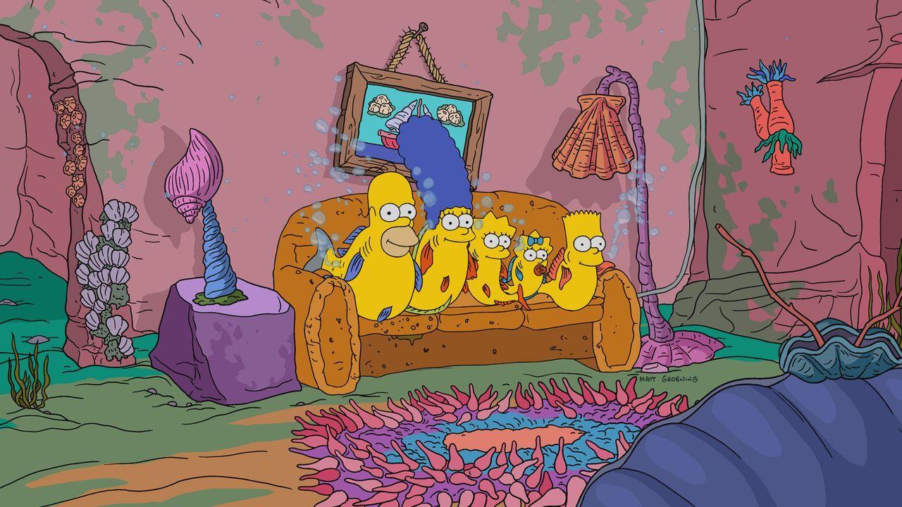 Neue, große und kleine Abenteuer warten auf (v.l.n.r.) Homer, Marge, Lisa, Maggie und Bart ... - Bildquelle: 2017-2018 Fox and its related entities.  All rights reserved.