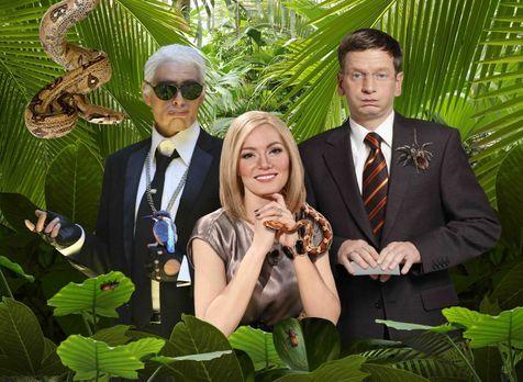 Switch reloaded - So prominent war der Dschungel noch nie! Karl Lagerfeld (Ma...