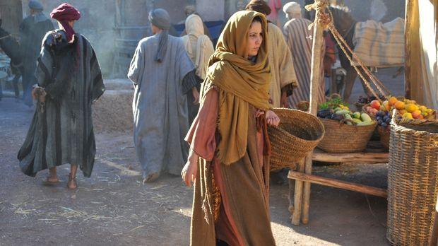 Maria, die Mutter von Jesus Christus, auf den Straßen von Bethlehem... © 2011...