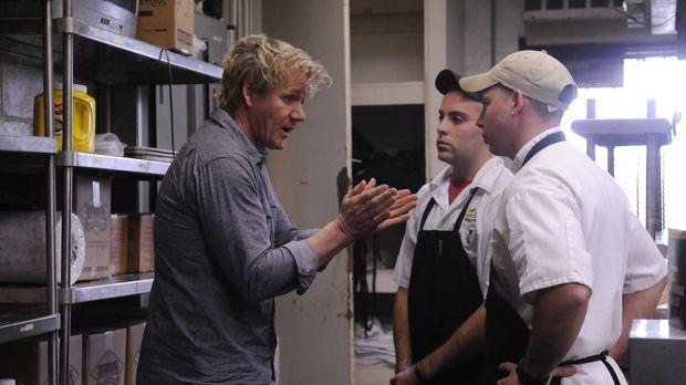Kann Gordon Ramsay (l.) den Besitzern eines typischen Südstaaten-Restaurants...